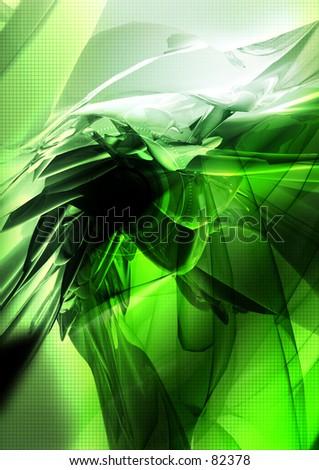 Conceptual Illustration 35 - stock photo