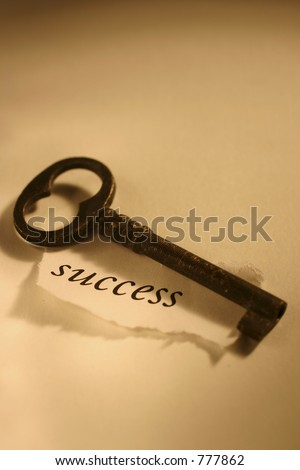 Conceptual Image: Key to success
