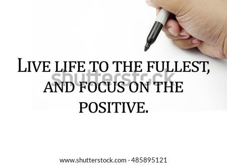 Quotes To Live Life By Unique Live Life Stock Images Royaltyfree Images & Vectors  Shutterstock