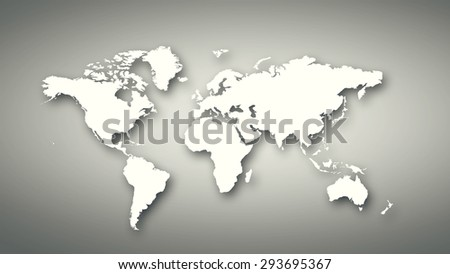 Conceptual image world map on concrete stock illustration 293695367 conceptual image with world map on concrete wall gumiabroncs Images