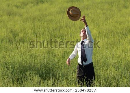Conceptual photo representing business and nature. - stock photo
