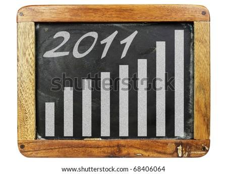 Conceptual pic: economic recovery - stock photo