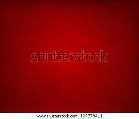 Conceptual red old paper background, made of grungy or vintage texture stained or dirty surface ideal for holiday, Christmas or retro designs - stock photo