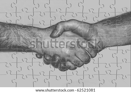 Conceptual representation of a puzzling trade agreement.