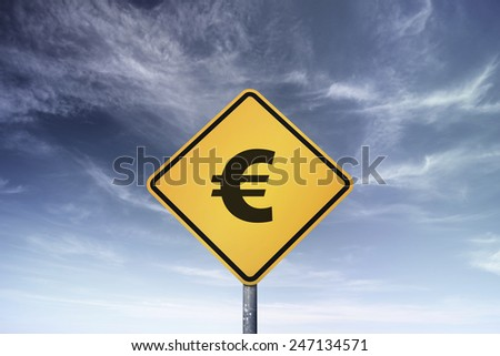 Conceptual road sign with text. - stock photo