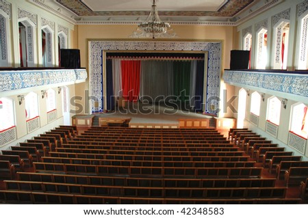 Concert hall in a palace - stock photo