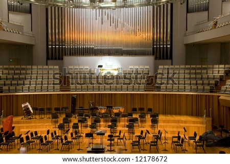 Concert Hall in national center for the performing arts - stock photo