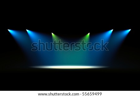 Concert light 2 - stock photo