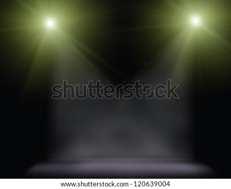 concert lighting against a dark background illustration