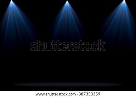 Concert lighting backgroun - stock photo