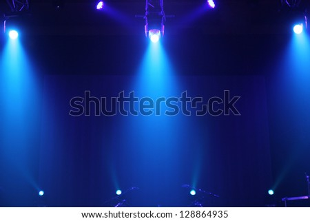 concert lighting background - stock photo