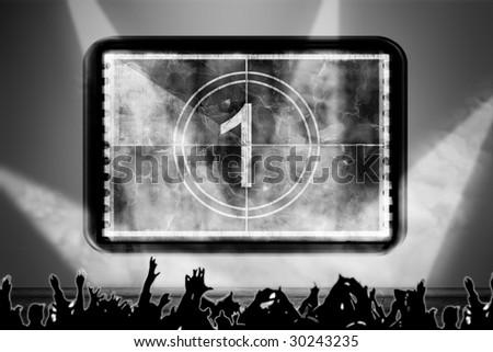 concert stage - stock photo