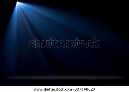 Concert stage and lighting background - stock photo