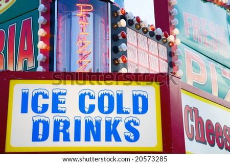Concession stand - stock photo