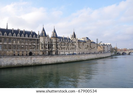 Conciergerie - Paris, France - stock photo