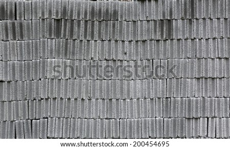 Concrete block background - stock photo