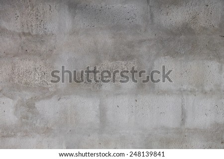 concrete block wall
