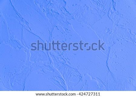 concrete blue darken wall texture grunge background - stock photo