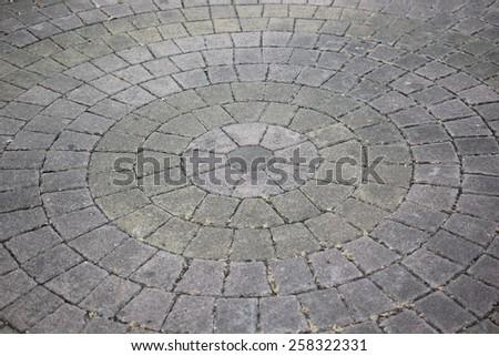 Concrete blur - stock photo