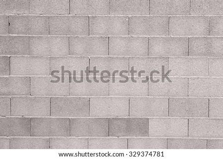 Concrete bricks wall - stock photo