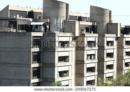 Concrete building  - stock photo