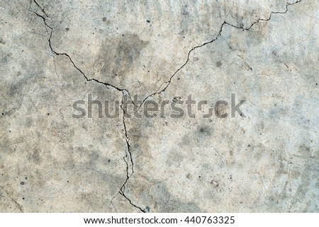 concrete cement wall with crack ,texture background