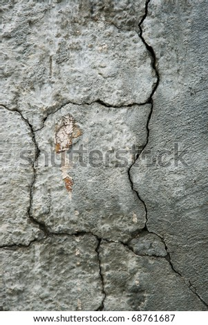 concrete cracked