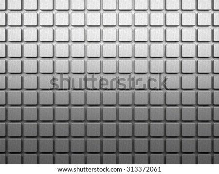 Concrete cubes 3d background
