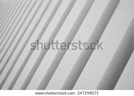 concrete elements - stock photo