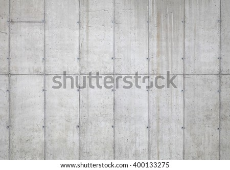 Concrete grey wall