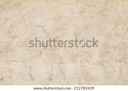 Concrete material texture with cracks useful as a background - stock photo
