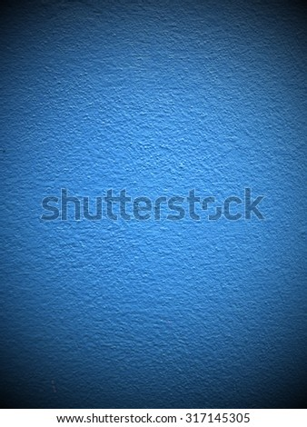 concrete of a blue wall background - stock photo