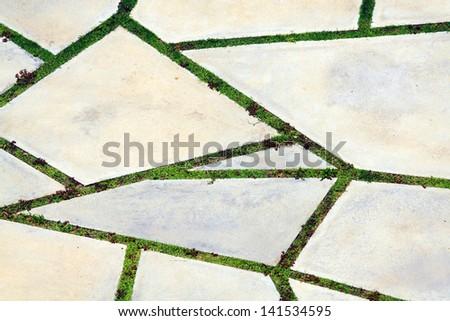 Concrete pattern - stock photo