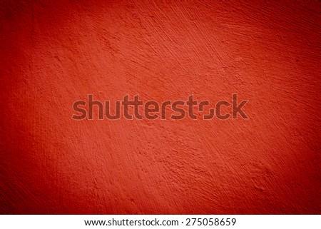 concrete red darken wall texture grunge background - stock photo