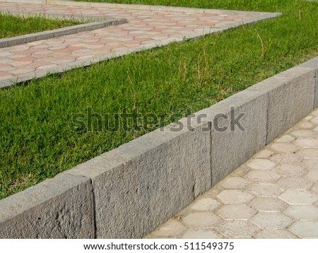Concrete Retaining Wall Stock Images Royalty Free Images