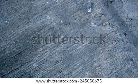 Concrete road texture background  - stock photo