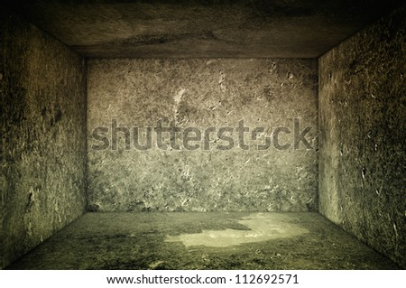 Concrete room interior urban texture background as backdrop