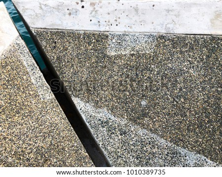 concrete slab pattern
