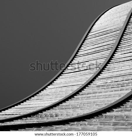 concrete structure - stock photo