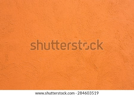 concrete texture with orange color use for background - stock photo