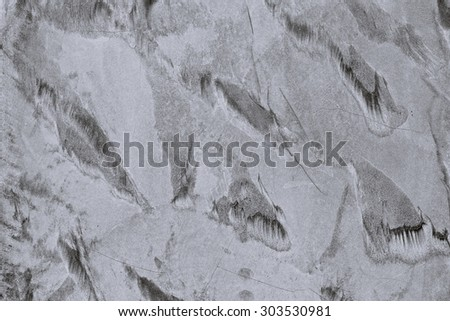 Concrete textured walls patterned Black and White background