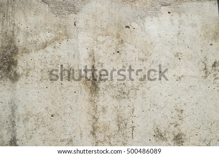 Concrete Wall.