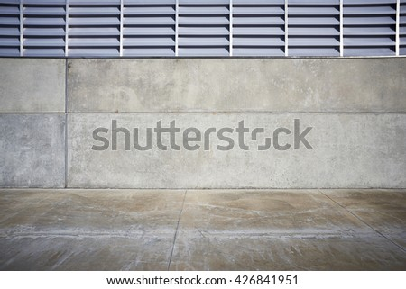 concrete wall for photographic background