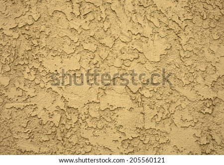 Concrete wall in grungy look with structure, cracked concrete wall - stock photo