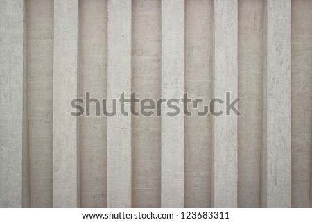 Concrete wall useful as a background - stock photo