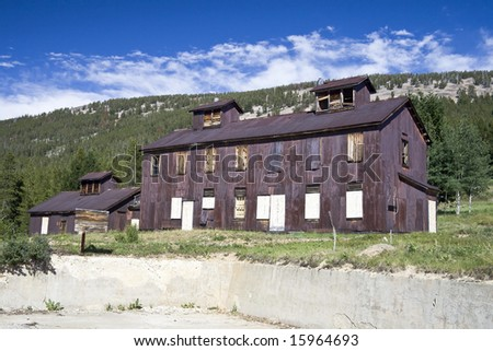 Condemned Building - stock photo
