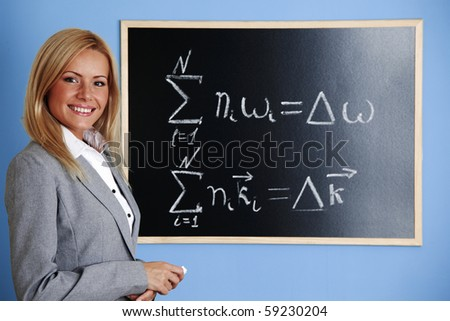 condition of phase synchronism - stock photo