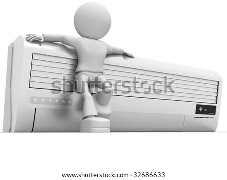 Conditioner - stock photo