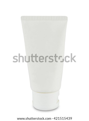 conditioner bottle isolated on white background