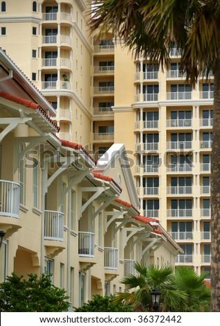 Condo/Apartment High Rise - stock photo